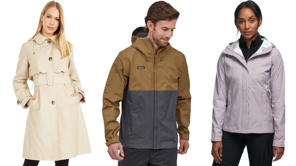 12 women's and men's raincoats that will actually keep you dry