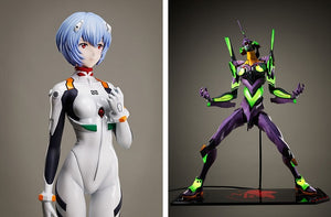 You can now buy a life-size Rei Ayanami figure for $17,500, plus an even more expensive Eva【Pics】