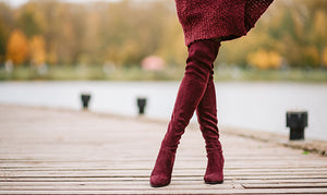 "If you are in search of nice and elegant ideas with that just scream, ""chic"", then try considering over-the-knee and knee-high boots for fashionable combinations"