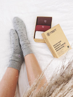 Organic Cotton Socks that Give Back
