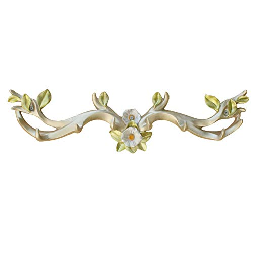 XF Garment Racks Hook-Hanger, Creative Home Antler Decorative Wall Hanging, Bedroom Entrance, Living Room, Office Hanger Hook (51X14.5CM) Clothing & Closet Storage