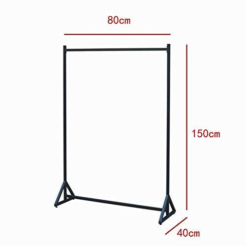lililili Coat Racks,Floor Standing Multifuctional Hanger,Industrial pipe Clothing rack, Heavy duty Commercial Grade Clothing Garment rack, Shelving-A