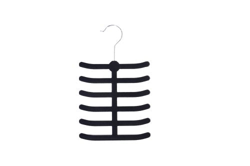 Achim Home Furnishings Velvet Anti-Slip Tie/Belt Hangers, 2-Pack