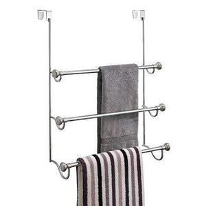 Related dosingo over the shower door triple towel rack