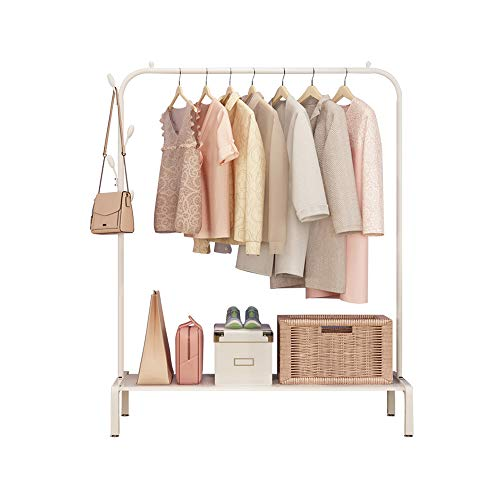 YQQ Hanger Indoor Drying Rack Single Pole Garment Rack 120150CM