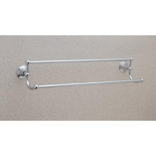 The best rohl rot20 24stn vin8pn rot20 24 country bath 24 double towel bar satin nickel