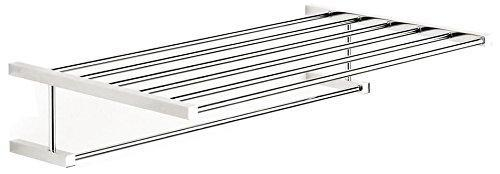 New ws bath collections iceberg collection towel rack 20 2 polished chrome