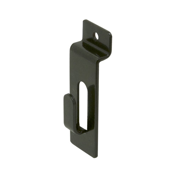 Slatwall Notch Picture Hanger Utility Peg Hook Lot of 25 - New Black