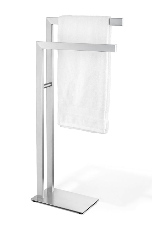 New zack 40377 towel stand stainless steel metallic