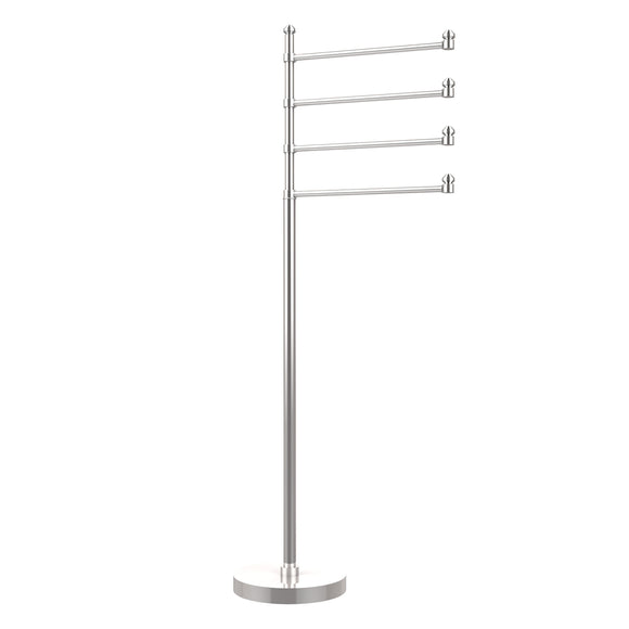 Shop here allied brass sb 84 pc southbeach collection 49 inch towel stand with 4 swing arm polished chrome