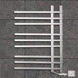 Buy now tongtong wall mounted electric towel rack stainless steel heated towel rail 750560120 90w 201