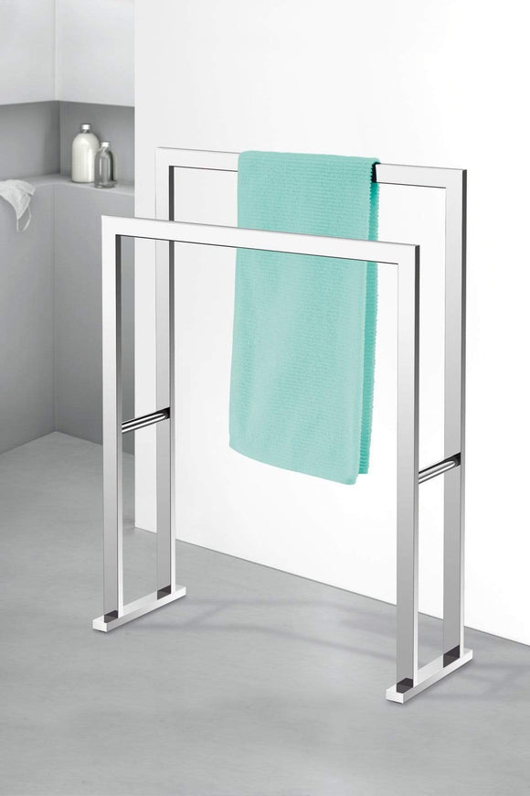 Discover the best zack 40040 linea towel rack 31 5 by 23 62 by 8 86 inch high glossy finish