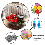 Buy now hjkk sponge holder for kitchen sink rust proof 304 stainless steel basket storage holder sink organizer for sponge brush soap towel dish cloth dishwashing liquid and more in sink sponge holder