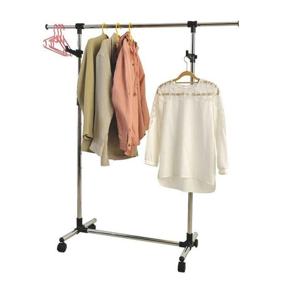 Garment Rack With Valet Hooks
