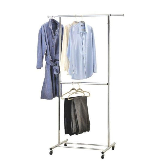 Double Decker Garment Rack