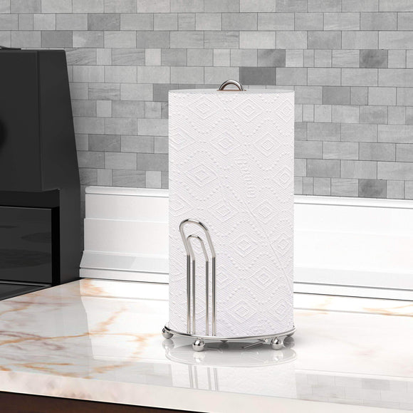Featured simple houseware chrome paper towel holder