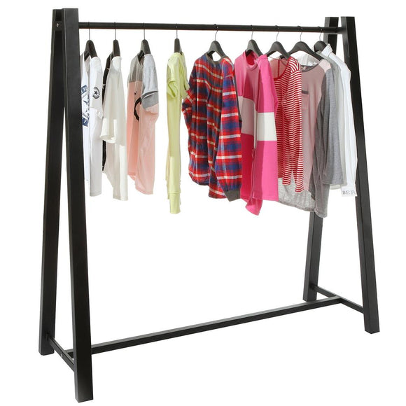 Heavy Duty Metal Clothing Hanger Storage Organizer / A-Frame Freestanding Garment Rack, 60-Inch