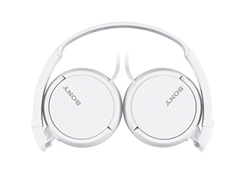 Sony ZX Series Wired On-Ear Headphones, White (MDRZX110/WHI)