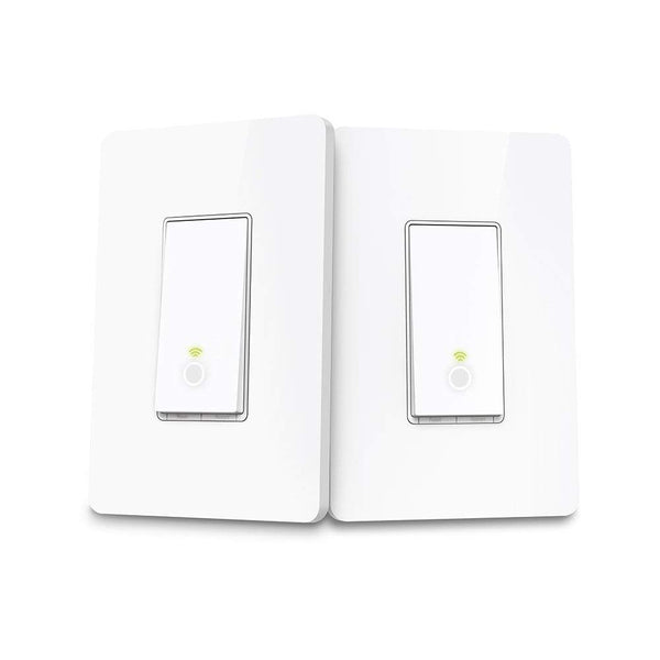 Kasa Smart Wi-Fi Light Switch, 3-Way Kit by TP-Link (3-Way Only)(HS210 KIT) (Refurbished)