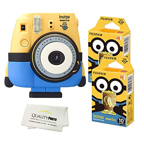 Fujifilm Minion Camera + Fuji Minion Films + Quality Photo Microfiber Cloth