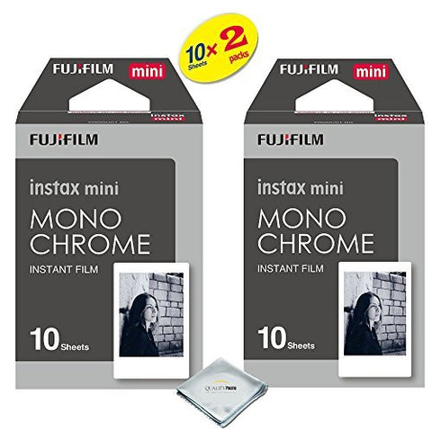 Fujifilm Instax Mini 8 & Mini 9 Instant Film 2-Pack (20 Sheets) Value Set for Fujifilm Instax Mini 8 & Mini 9 Cameras (Choice of design)