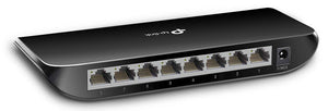 TP-Link TL-SG1008D 8-Port Unmanaged Gigabit Network Switch (Certified Refurbished)