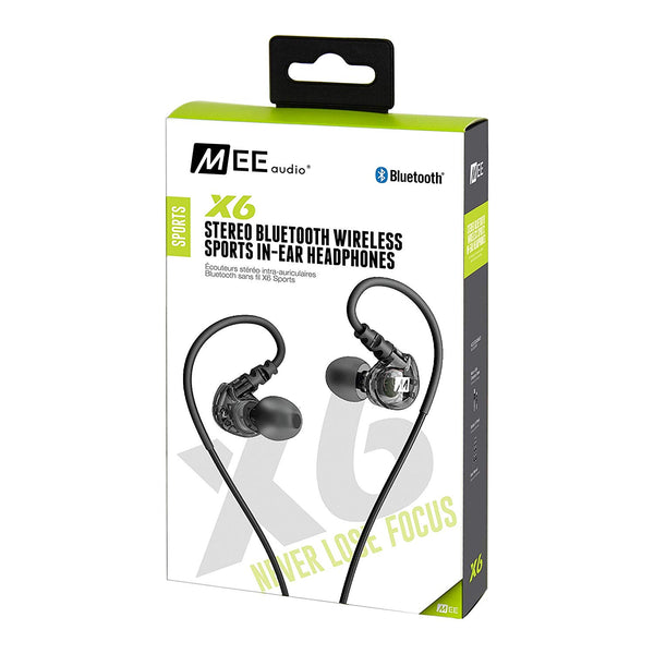 MEE audio X6 Bluetooth Wireless Sports In-Ear Headset (Certified Refurbished)