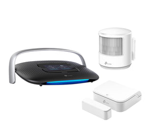TP-Link SR20 Smart Home Router & Hub Kit with CS100 Door Sensor and MS100 Smart Motion Sensor