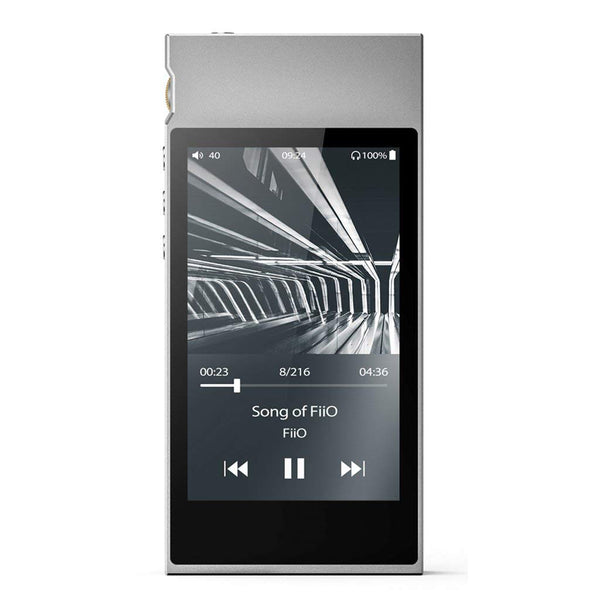 High-Resolution Lossless Fiio Audio Player with Samsung Exynos 7270 Processor Bundle (Silver)