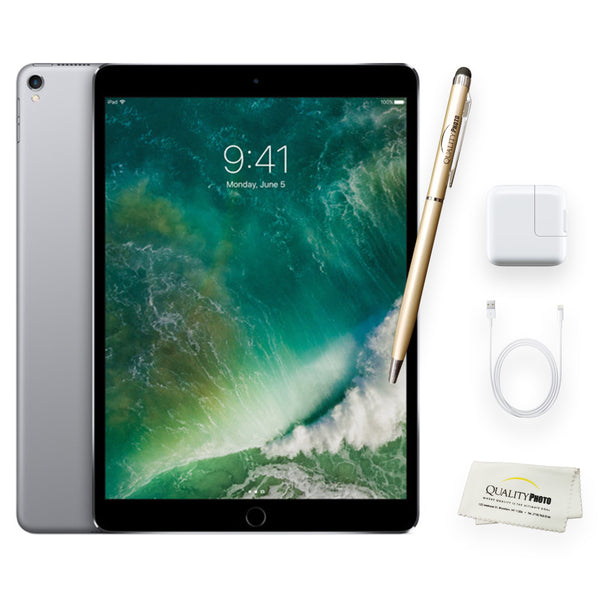 Apple iPad Pro 10.5 Inch Wi-Fi + Quality Photo Accessories (Latest Apple Tablet) 2017 Model. (64 GB)