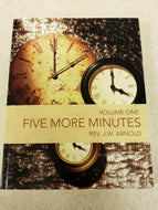 Five More Minutes - Volume One                              (Book $15 - 249 Pages)