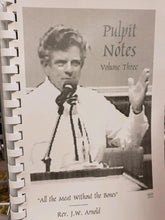 Load image into Gallery viewer, PULPIT NOTES - Volumes 1 - 7 for $49