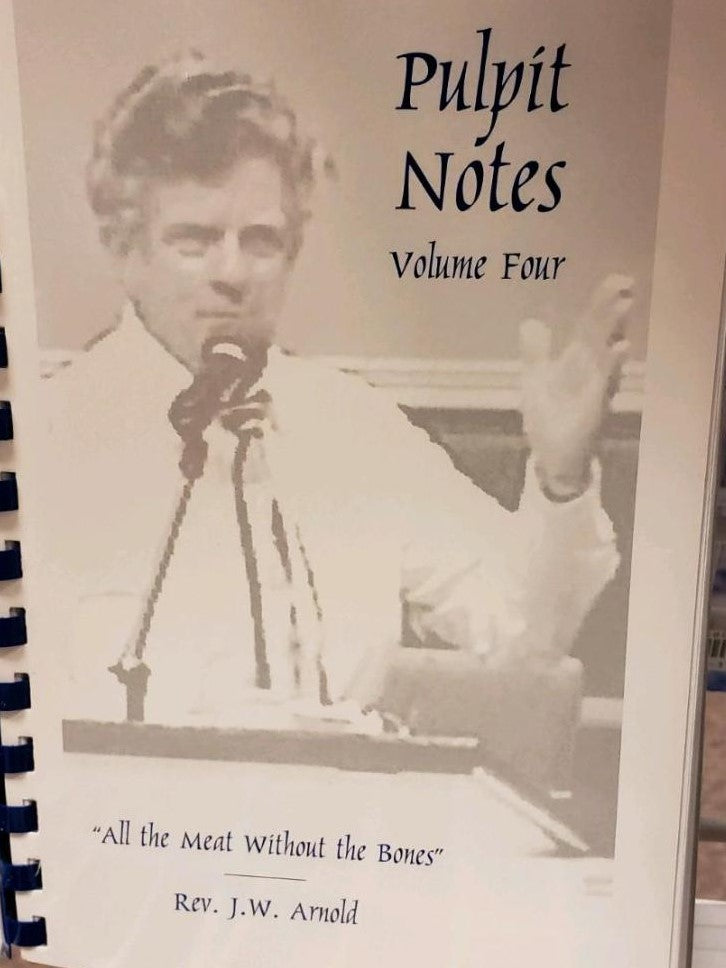 Pulpit Notes - Volume 4   (Book $9 - 106 Pages)