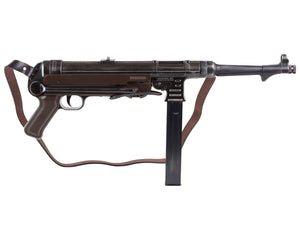 Weathered Legends MP40 BB Submachine Gun w/ Leather Strap by Legends