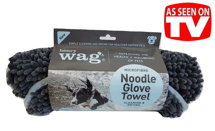 Noodle Glove Towel (OUT OF STOCK) Available Feb 2020