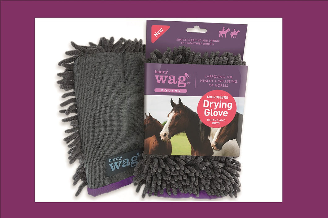 Henry Wag Equine Microfibre Cleaning Glove