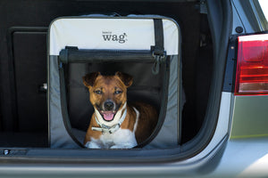 Henry Wag Folding Fabric Travel Crates