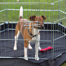 Load image into Gallery viewer, Henry Wag 6 Sided Steel Pet Pen with fabric Base