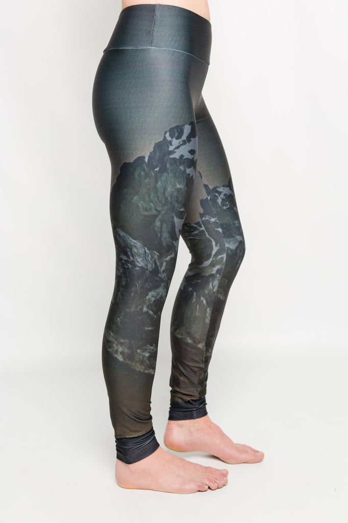 Women's leggings made in Colorado - Illuminate - Right Side 2