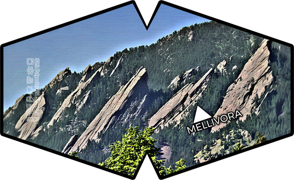 """Flatirons"" Barrier Mask"