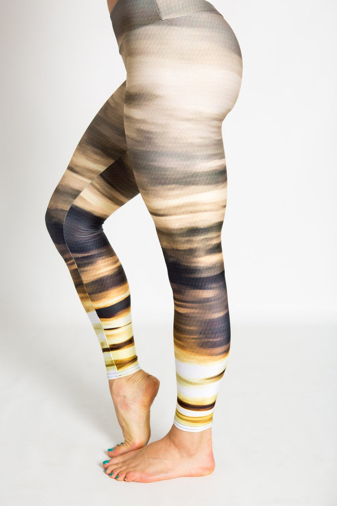 Women's leggings made in Colorado - Persistence - Moab Sunset - 2