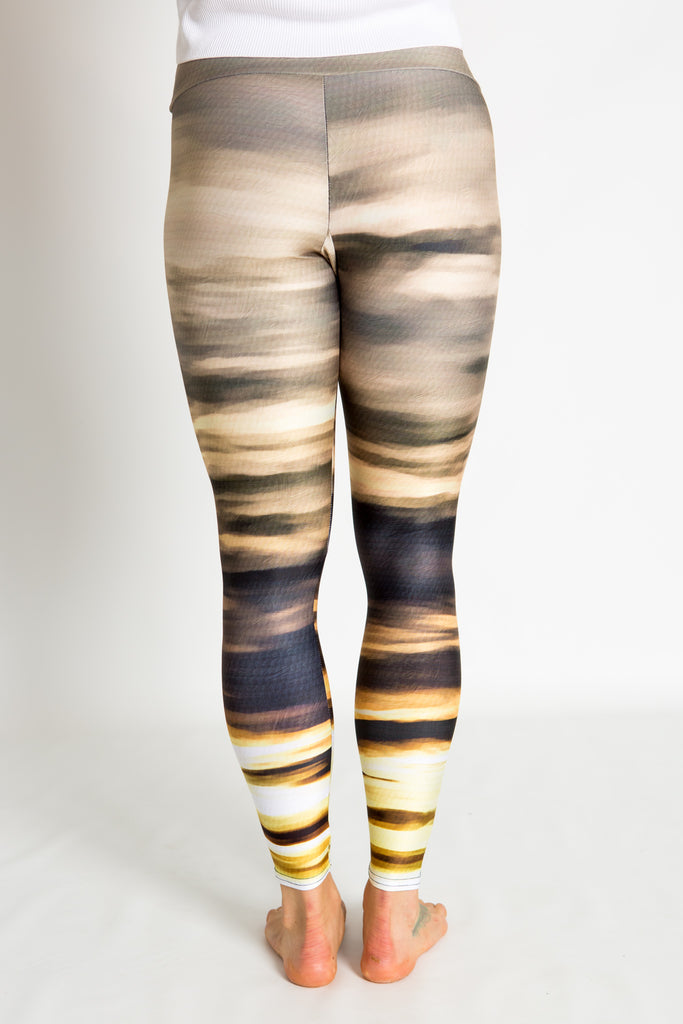 Women's leggings made in Colorado - Persistence - Moab Sunset - 4