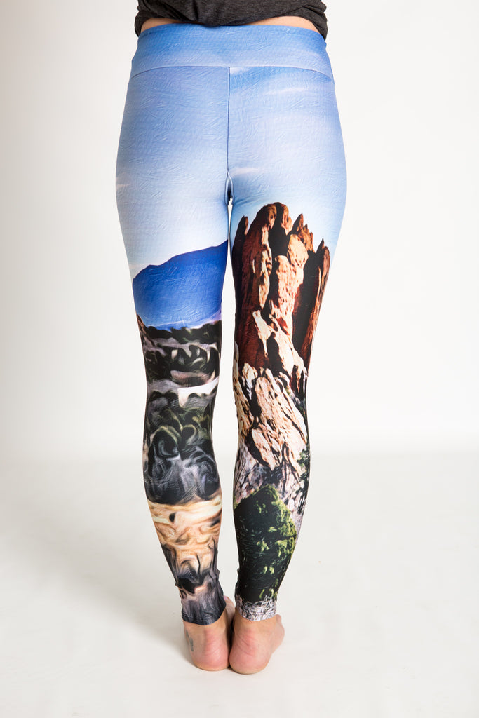 Women's leggings made in Colorado - Endurance - Garden of the Gods - 4