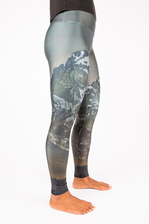 Women's leggings made in Colorado - Illuminate - Right Side