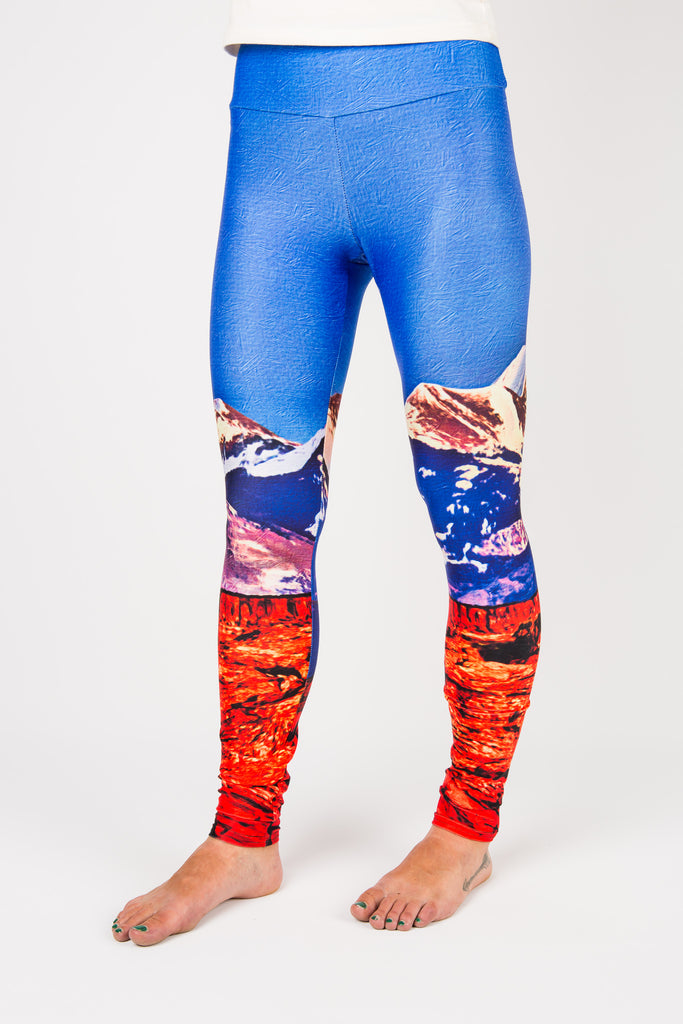 Women's leggings made in Colorado - Influence - Front