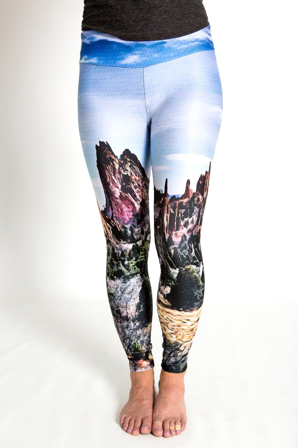 """Endurance"" Garden of the Gods Leggings"