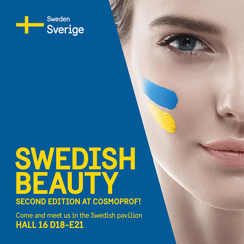 Swedish beauty - second edition at Cosmoprof!