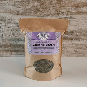 Blueberry-Apple Textured chia