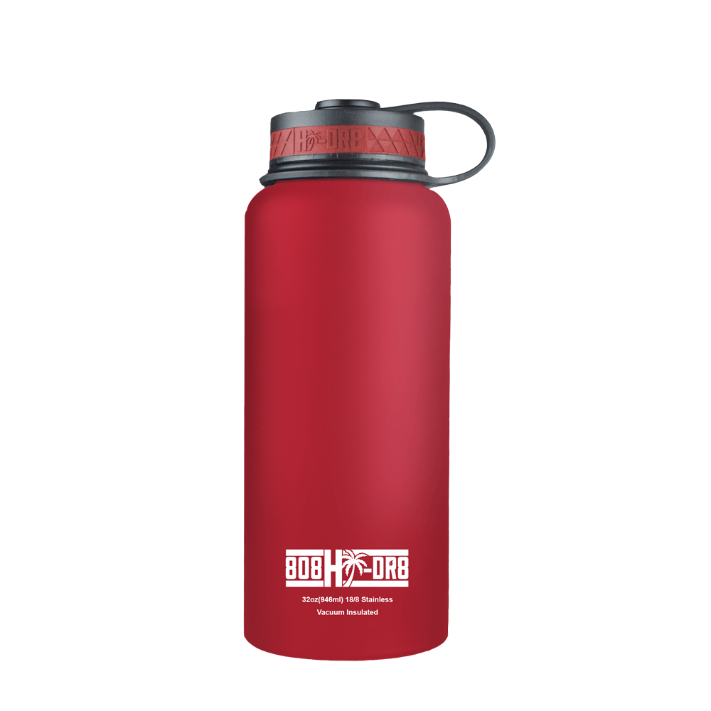 Hibiscus Red 32 oz Bottle - 808HIDR8
