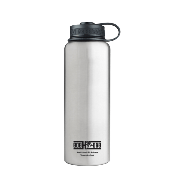 Stainless Steel 40 oz Bottle - 808HIDR8